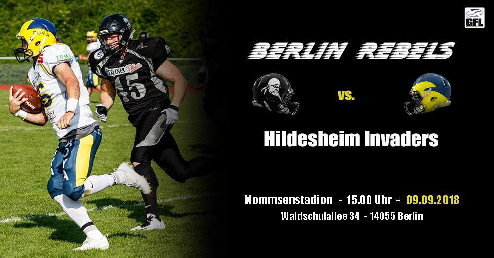 FOURGREEN TV_Berlin_Rebels_Hildesheim_Invaders_GFL_Football